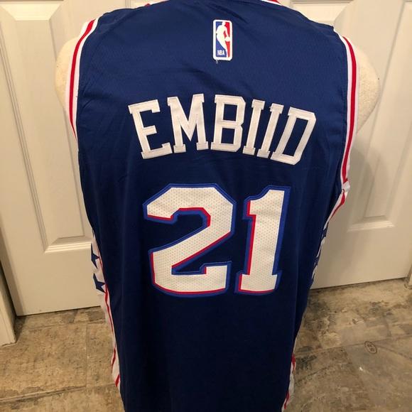 hot sale online d5363 2e040 New Joel Embiid jersey NWT